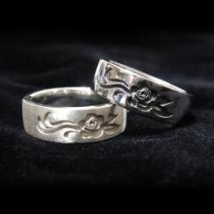 Chasteness roses ring -silver925-